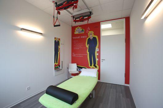 Sala de tratamientos de fisioterapia